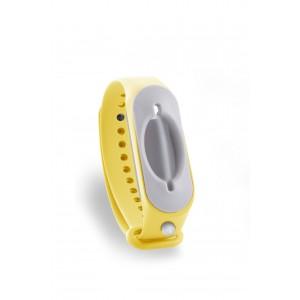Hygienearmband inkl. Refiller - Farbe gelb