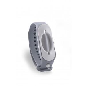 Hygienearmband inkl. Refiller - Farbe grau