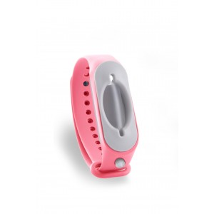 Hygienearmband inkl. Refiller - Farbe pink