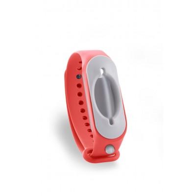 Hygienearmband inkl. Refiller - Farbe rot
