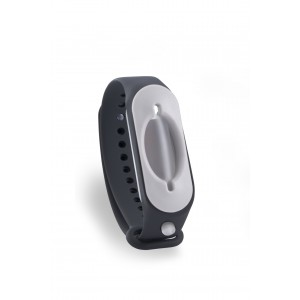 Hygienearmband inkl. Refiller - Farbe schwarz